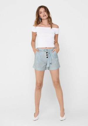 ONLVIVA LIFE BELT - Shorts - cashmere blue