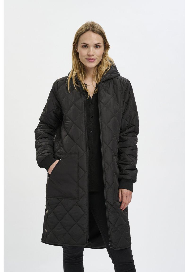 Kaffe - PTILLA - Winter coat - black deep