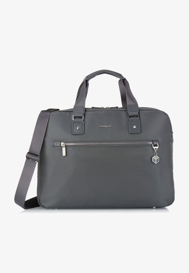 CHARM OPALIA - Briefcase - iron gate