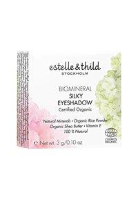 Estelle & Thild - BIOMINERAL SILKY EYESHADOW 3G - Eye shadow - brown ash - 1