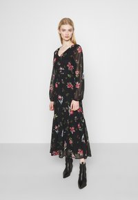 Vero Moda - VMPETRA ANCLE - Day dress - black/petra - 0