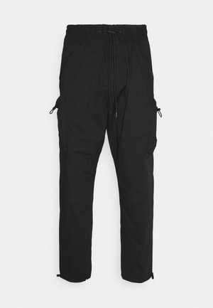 LIGHTWEIGHT  - Cargo trousers - black