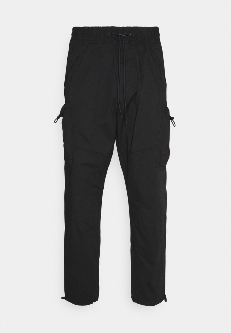 Calvin Klein Jeans - LIGHTWEIGHT  - Cargo trousers - black