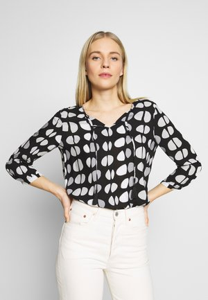 Blouse - grey/black