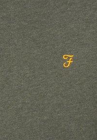 Farah - TIM CREW - Felpa - evergreen marl - 6