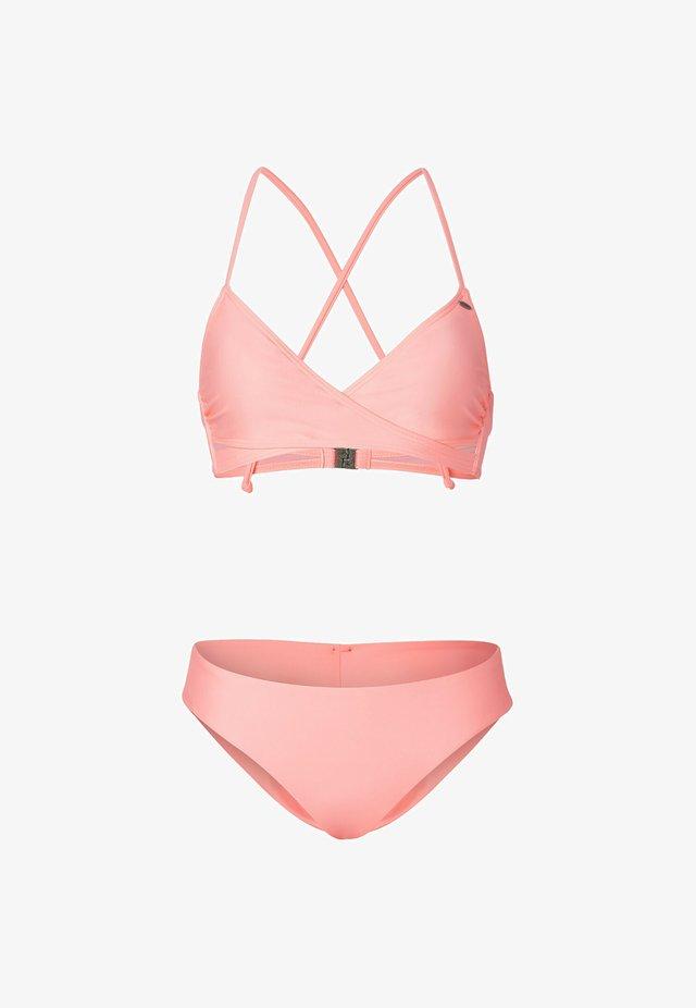 SET - Bikini - neon origami