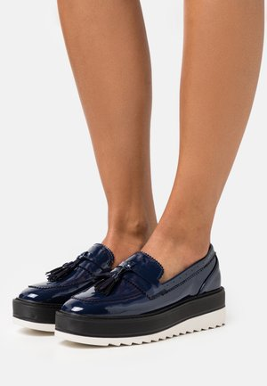 Loaferit/pistokkaat - dark blue