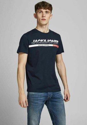 T-shirt con stampa - navy blazer
