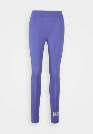 LOGO LEGGINGS - Leggings - hazy blue