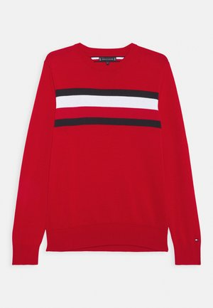 ESSENTIAL WARM - Trui - red