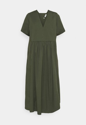 DRESS SHORT SLEEVE VNECK - Day dress - deep depth