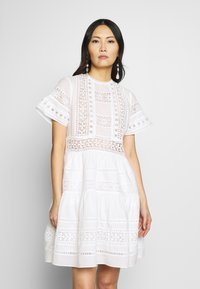By Malina - FELICE DRESS - Day dress - white - 0