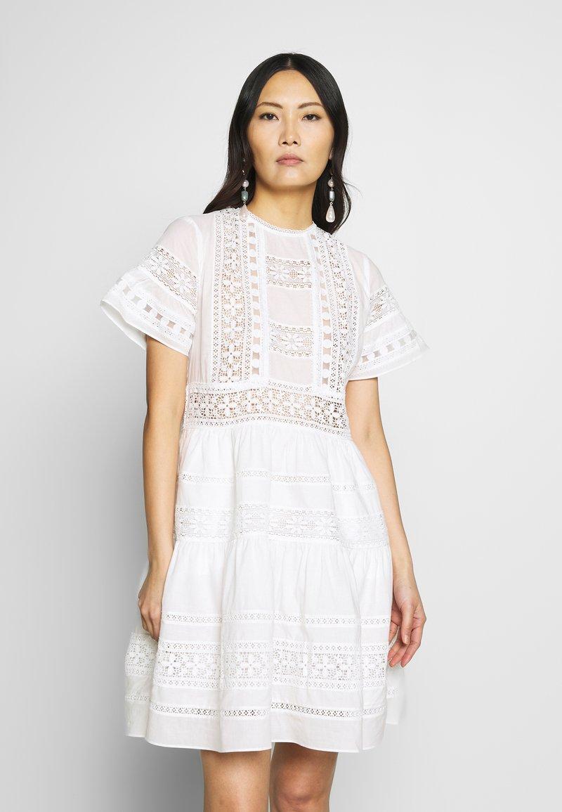 By Malina - FELICE DRESS - Day dress - white