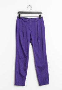 MADELEINE - Trousers - purple - 0