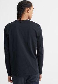 Superdry - LONG SLEEVED - Long sleeved top - black - 2