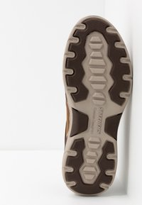 Skechers - EXPENDED - Półbuty wsuwane - dark brown - 4