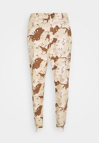 Karl Kani - SIGNATURE WASHED CARGO PANTS - Cargo trousers - sand - 0