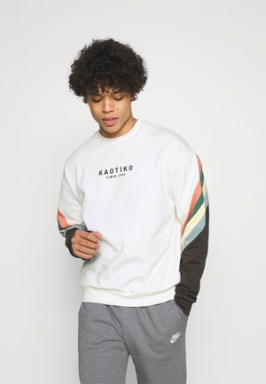 CREW WALKER UNISEX - Sweater - white
