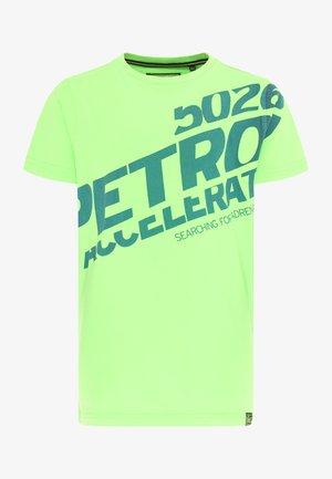 Print T-shirt - green gecko