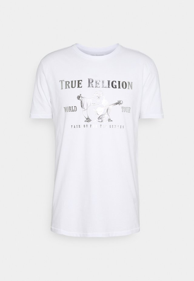 CORE LOGO TEE - Camiseta estampada - white