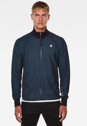JIRGI ZIP TAPE DETAIL FUNNEL  - Training jacket - mazarine blue/cricket blue