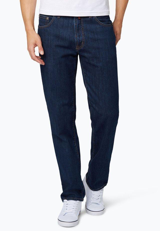 Straight leg jeans - dark stone