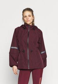 Sweaty Betty - MISSION JACKET - Waterproof jacket - plum red - 0