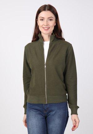 Zip-up hoodie - Khaki
