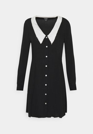 NOOMI DRESS - Abito a camicia - black