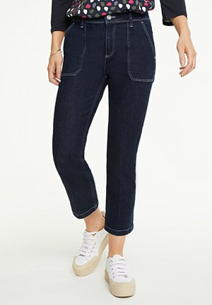 Straight leg jeans - rinse washed blue