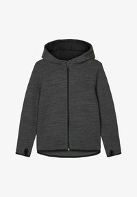 Name it - Zip-up hoodie - asphalt - 0