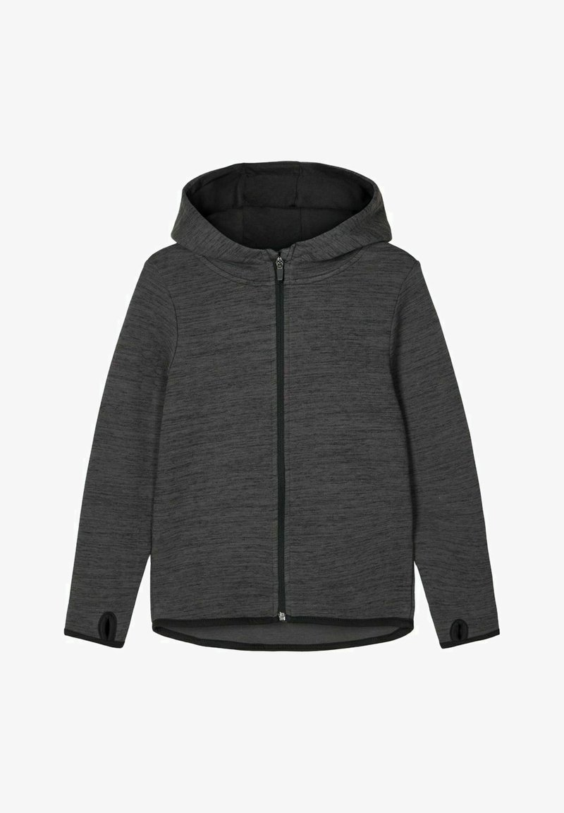Name it - Zip-up hoodie - asphalt