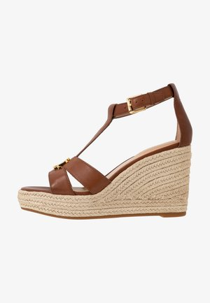 HALE CASUAL - High Heel Sandalette - deep saddle tan