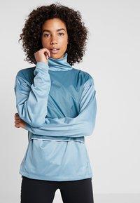 Salomon - ELEVATE AERO COZY - T-shirt à manches longues - smoke blue - 0
