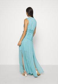 Thurley - WATERFALL DRESS - Galajurk - blue nile - 2
