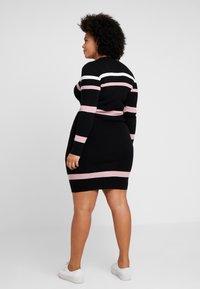 Anna Field Curvy - Shift dress - black - 3