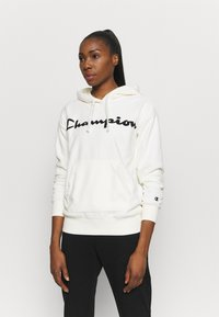 Champion - HOODED LEGACY - Huppari - off white - 0