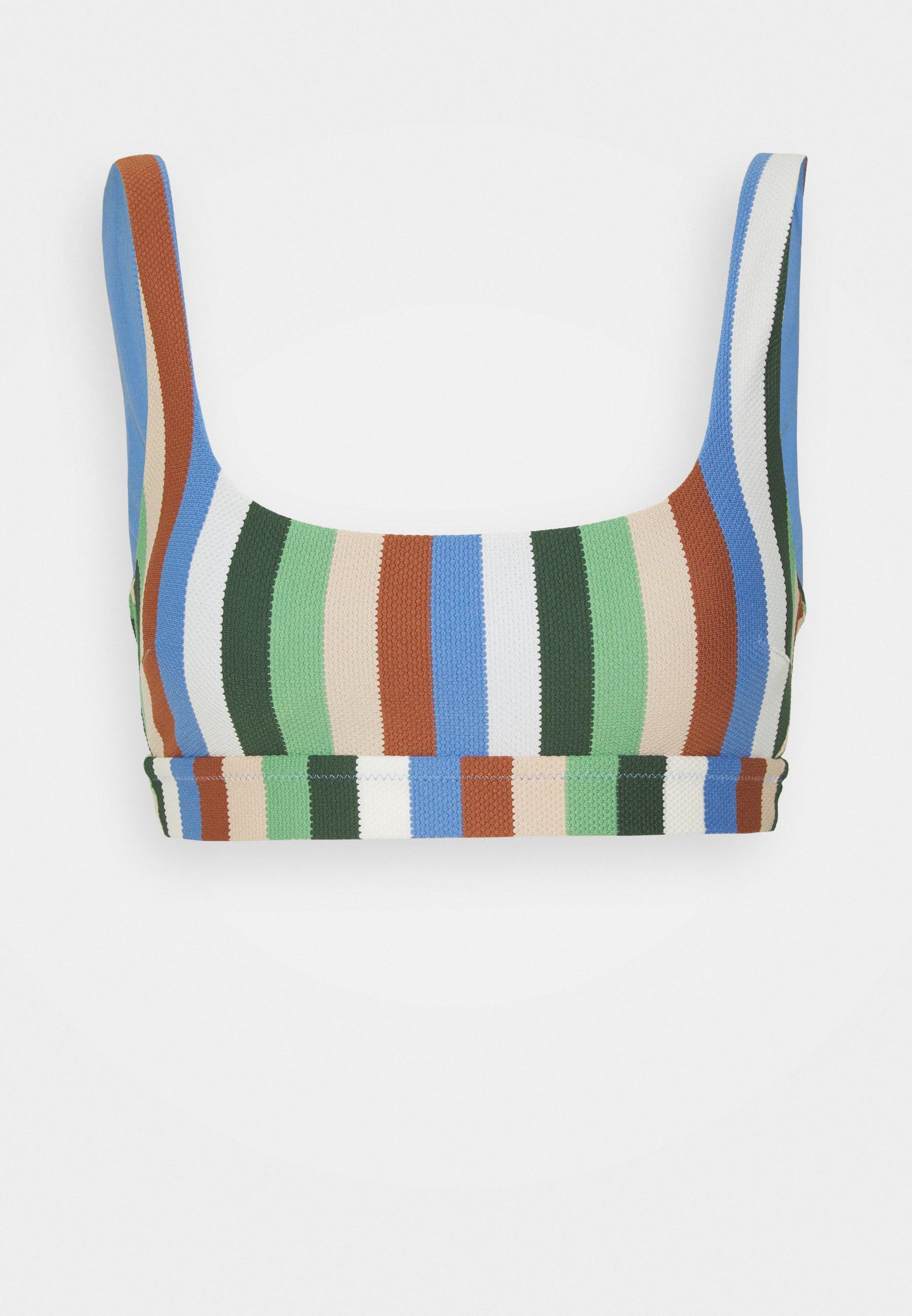 Women WIDE STRAP SCOOP  - Bikini top