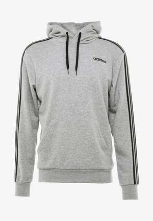 Hoodie - medium grey heather/black