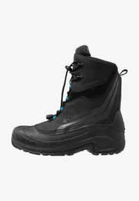 Columbia - YOUTH BUGABOOT PLUS IV OMNI-HEAT - Snowboot/Winterstiefel - black/hyper blue - 0