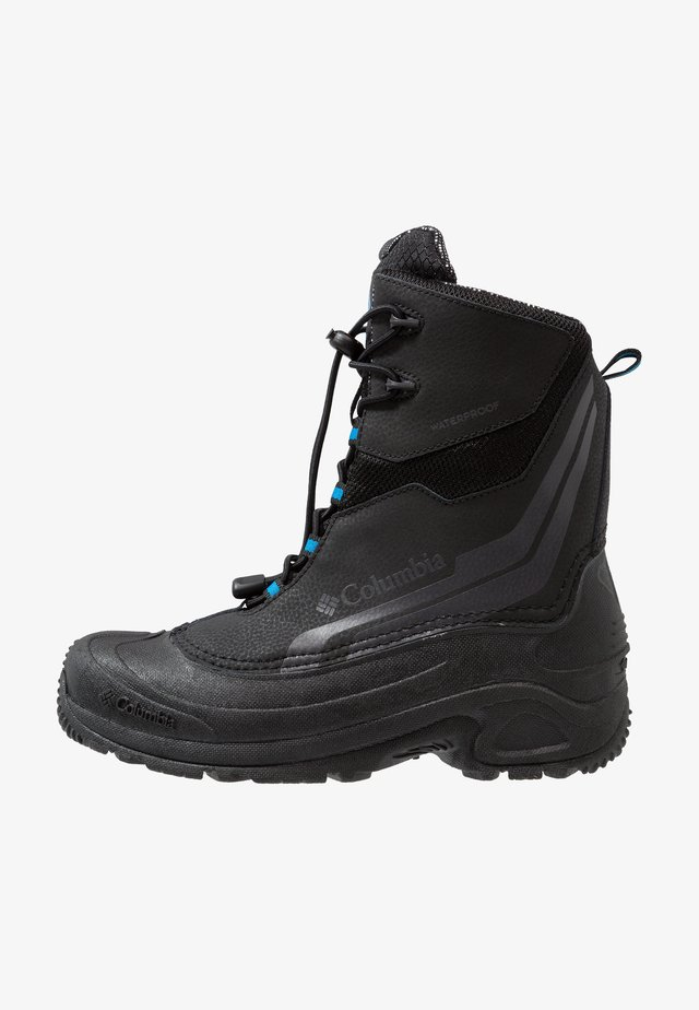YOUTH BUGABOOT PLUS IV OMNI-HEAT - Winter boots - black/hyper blue