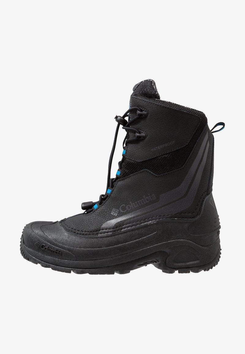 Columbia - YOUTH BUGABOOT PLUS IV OMNI-HEAT - Snowboot/Winterstiefel - black/hyper blue
