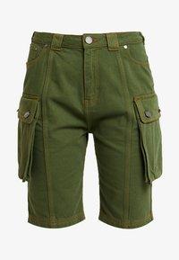 House of Holland - SAFARI MID LENGTH - Shorts - khaki green - 4