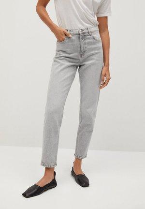 NEWMOM - Straight leg jeans - denim grau