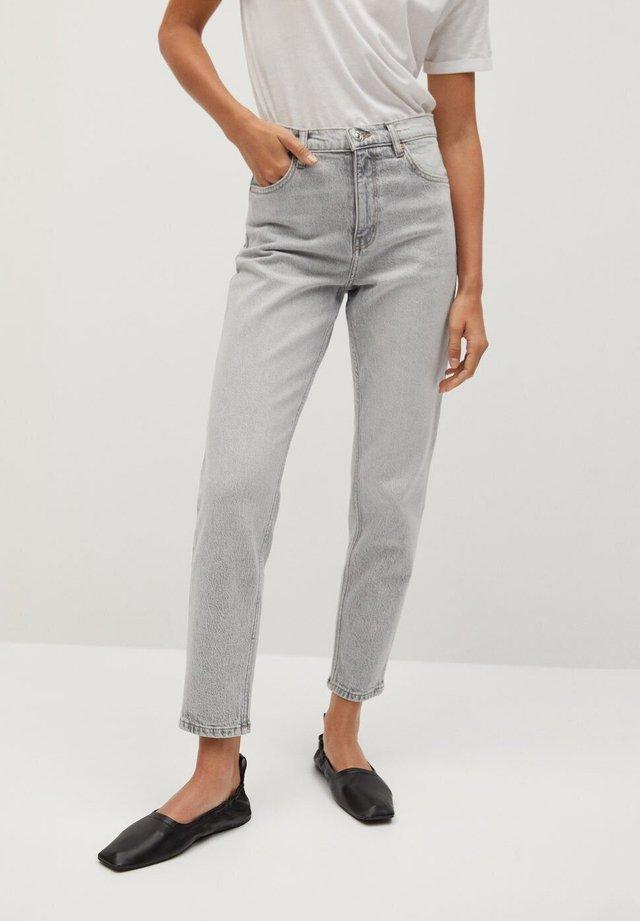 NEWMOM - Jeans a sigaretta - denim grau