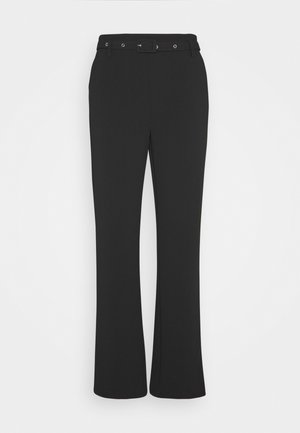 EDWIN PANTS - Bukse - black