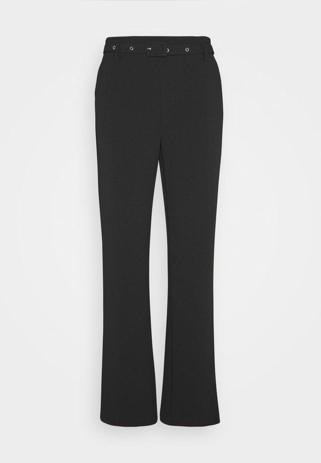 EDWIN PANTS - Trousers - black