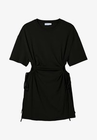 Bershka - Jerseykleid - black - 6