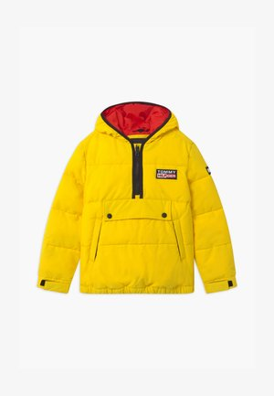 PADDED POPOVER UNISEX - Winter jacket - yellow