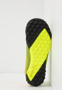 Nike Performance - MERCURIAL JR VAPOR 13 ACADEMY TF UNISEX - Astro turf trainers - lemon /black/aurora green - 5
